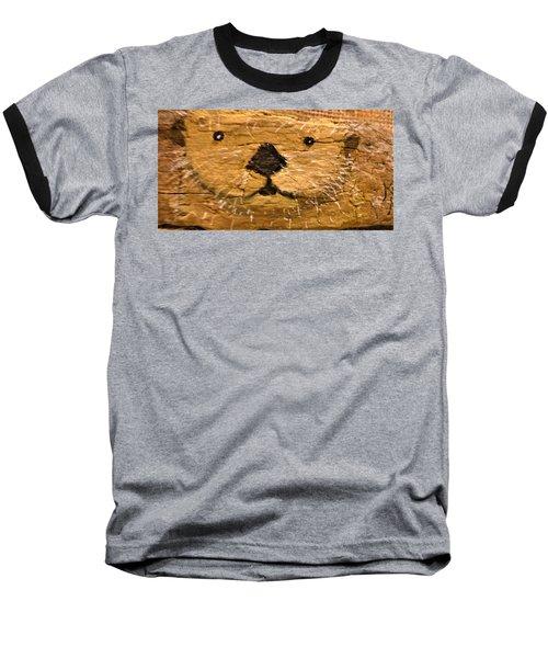 Otter Baseball T-Shirt by Ann Michelle Swadener