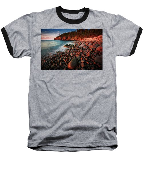 Baseball T-Shirt featuring the photograph Otter Beach Main After The First Light  by Emmanuel Panagiotakis