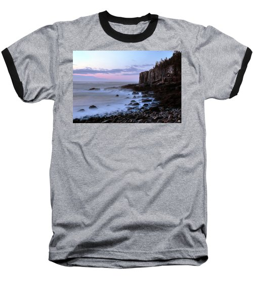 Otter Cliff Awash Baseball T-Shirt