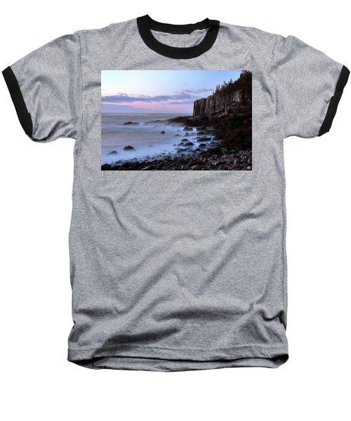 Otter Cliff Awash Baseball T-Shirt
