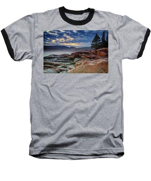 Otter Cove In The Mist Baseball T-Shirt