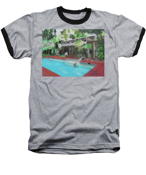 Our Back Yard In Orlando Baseball T-Shirt