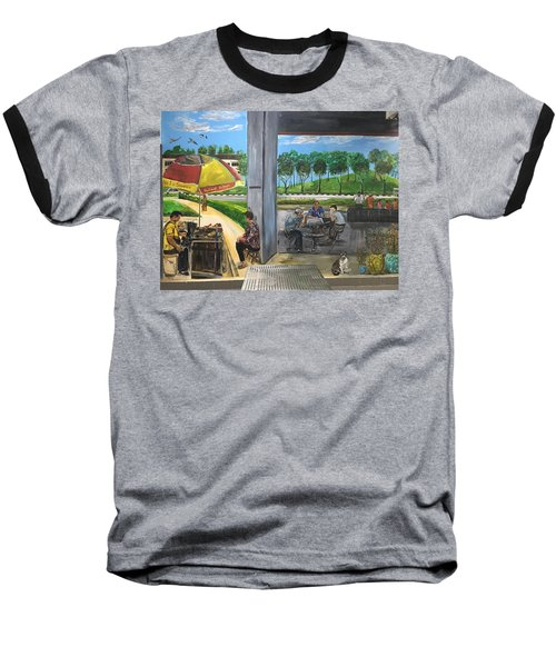 Our Home, Our Community Baseball T-Shirt