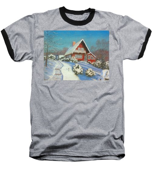 Our Home Baseball T-Shirt by Rae  Smith  PAC