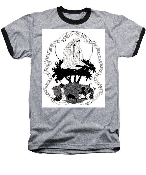 Our Lady Of Fatima - Dpolf Baseball T-Shirt