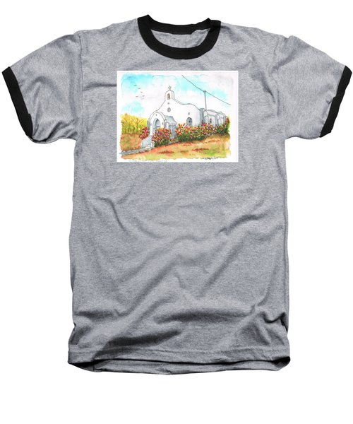 Our Lady Of Mount Carmel Catholic Church, Carmel,california Baseball T-Shirt