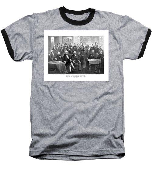 Our Presidents 1789-1881 Baseball T-Shirt