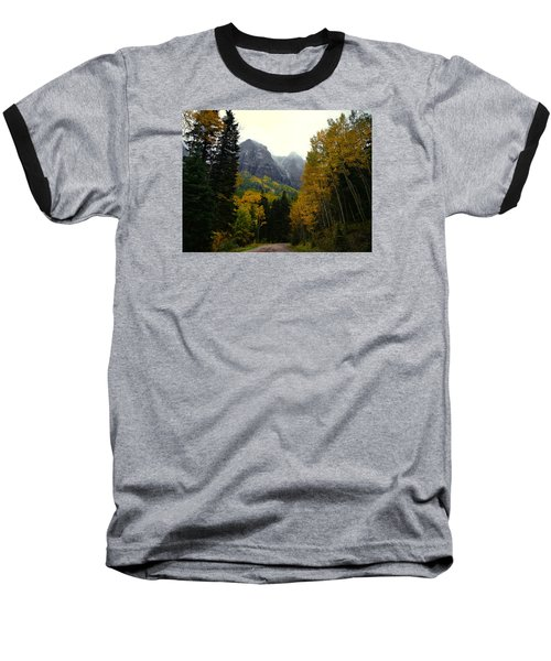 Baseball T-Shirt featuring the photograph Ouray Side Trip by Laura Ragland