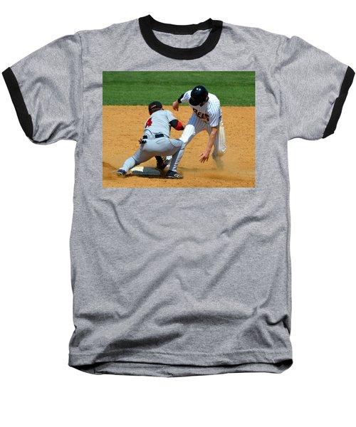 Out At Second Baseball T-Shirt