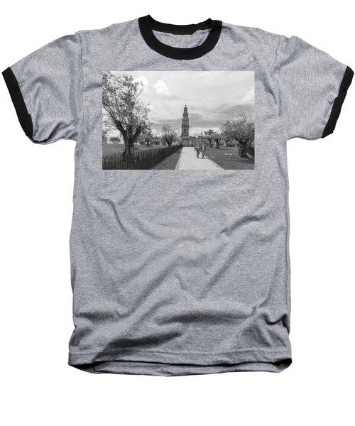 Out For A Walk Baseball T-Shirt