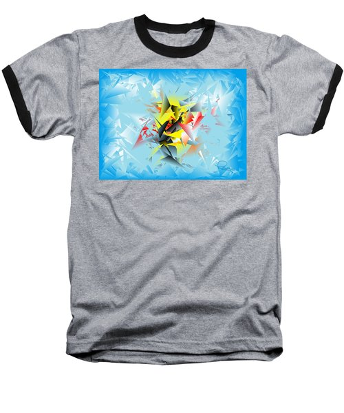 Out Of The Blue 5 Baseball T-Shirt