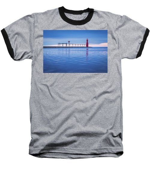 Baseball T-Shirt featuring the photograph Out Of The Blue by Bill Pevlor