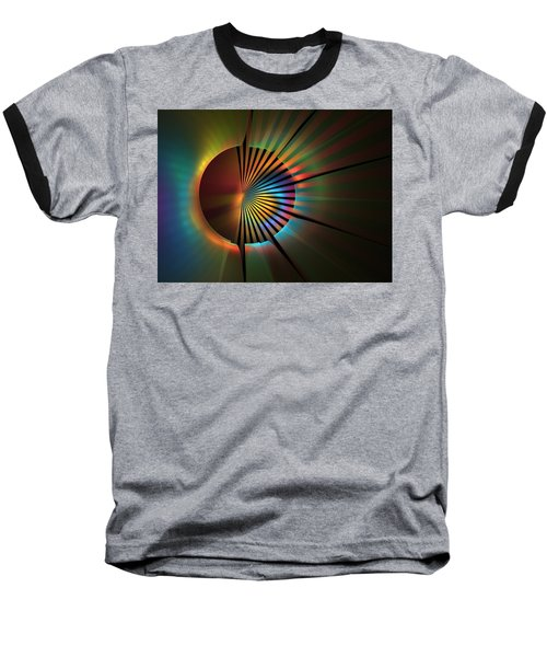 Out Of The Corner Of My Eye Baseball T-Shirt by Lyle Hatch