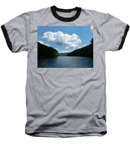 Out Of The Cove Baseball T-Shirt by Donald C Morgan