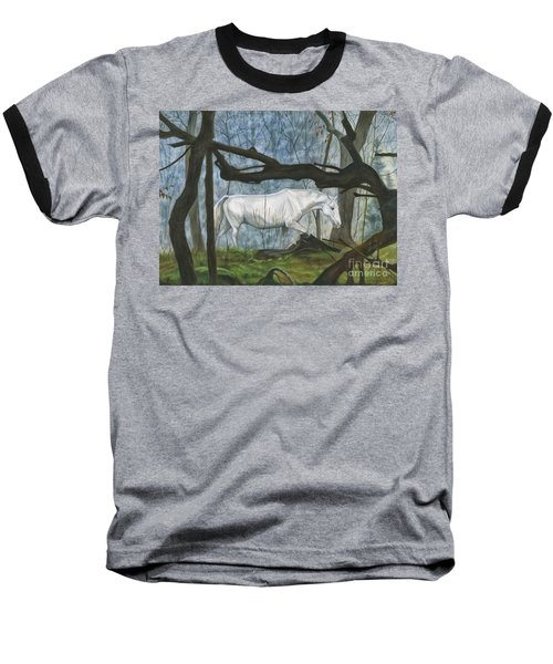 Out Of The Shadows Baseball T-Shirt