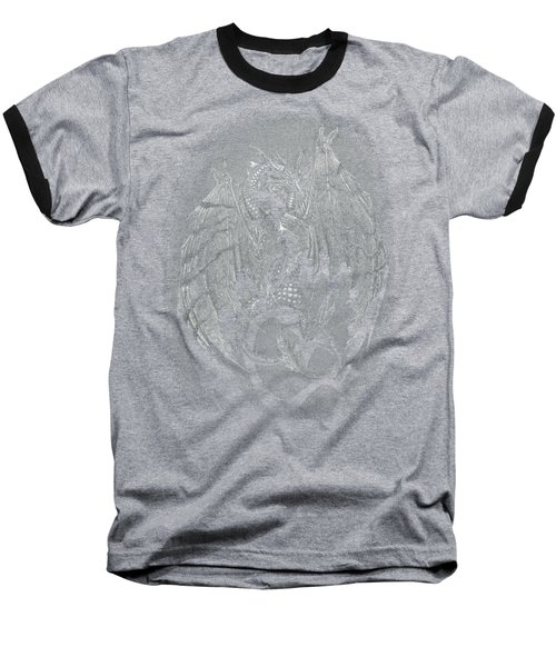 Baseball T-Shirt featuring the drawing Out Of The Shadows T-shirt by Stanley Morrison