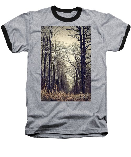 Out Of The Soil - Into The Forest Baseball T-Shirt