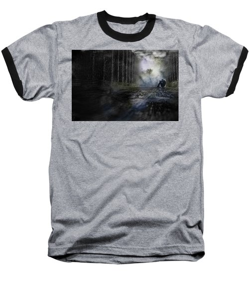 Baseball T-Shirt featuring the photograph Out Of The Storm by Gray  Artus
