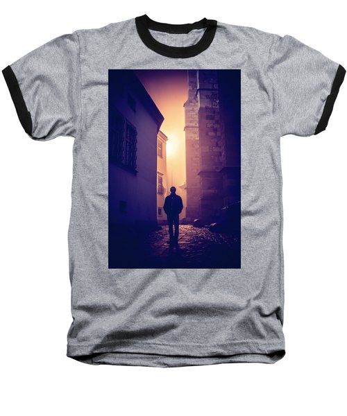 Baseball T-Shirt featuring the photograph Out Of Time by Jenny Rainbow