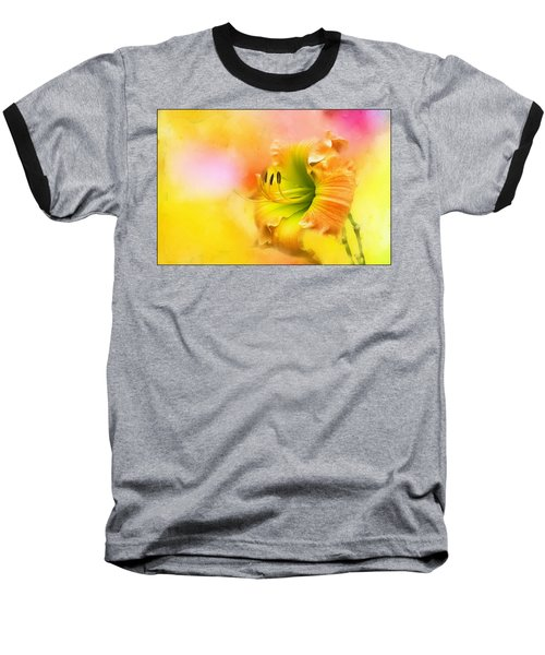 Out Of Yellow Baseball T-Shirt