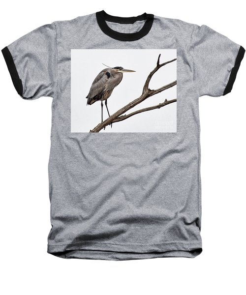 Baseball T-Shirt featuring the photograph Out On A Limb by Tamera James