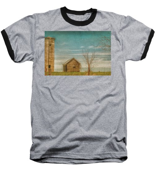 Out On The Farm Baseball T-Shirt