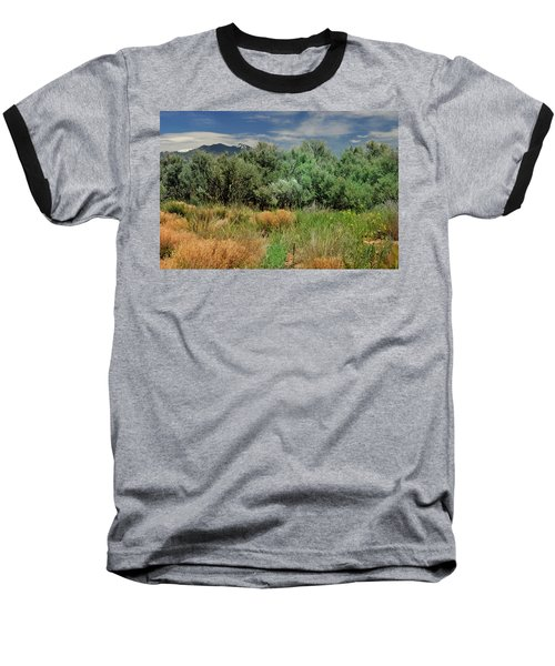 Out On The Mesa 1 Baseball T-Shirt