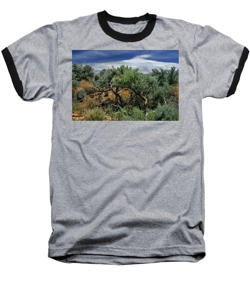 Out On The Mesa 3 Baseball T-Shirt