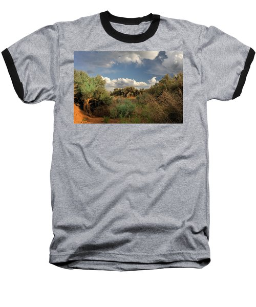 Out On The Mesa 4 Baseball T-Shirt