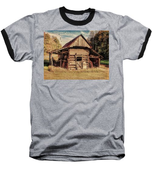 Baseball T-Shirt featuring the photograph Out To Pasture 2 by Bellesouth Studio