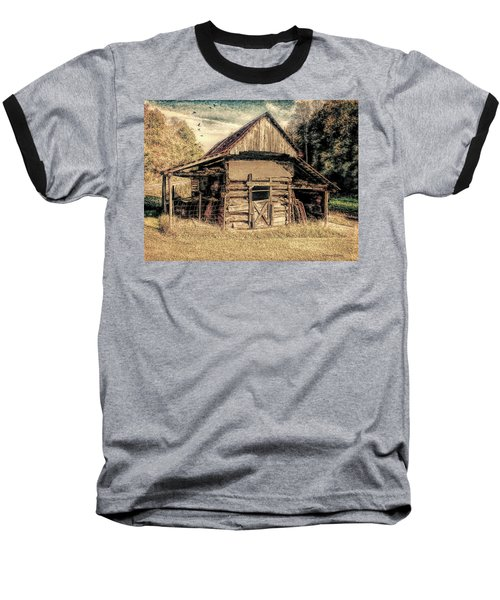 Baseball T-Shirt featuring the photograph Out To Pasture 1 by Bellesouth Studio