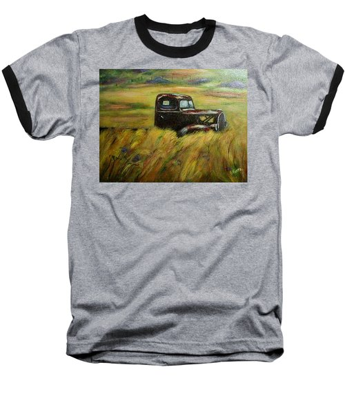 Out To Pasture Baseball T-Shirt by Gail Kirtz