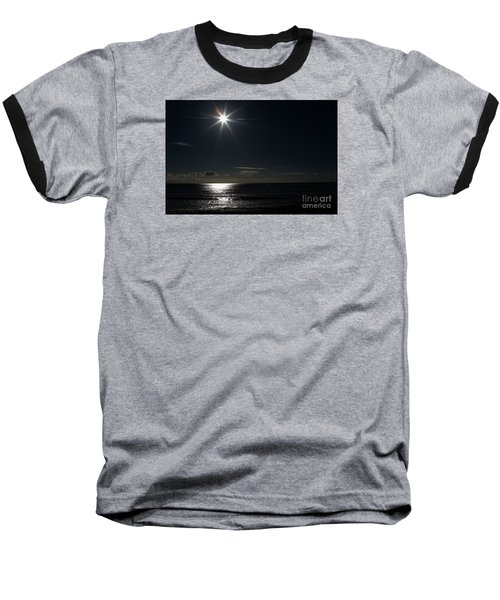 Baseball T-Shirt featuring the photograph Out To Sea  by Gary Bridger