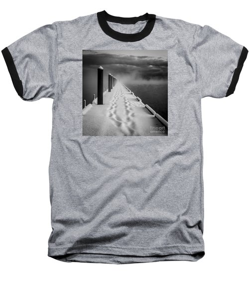Out To The End Baseball T-Shirt by Mitch Shindelbower