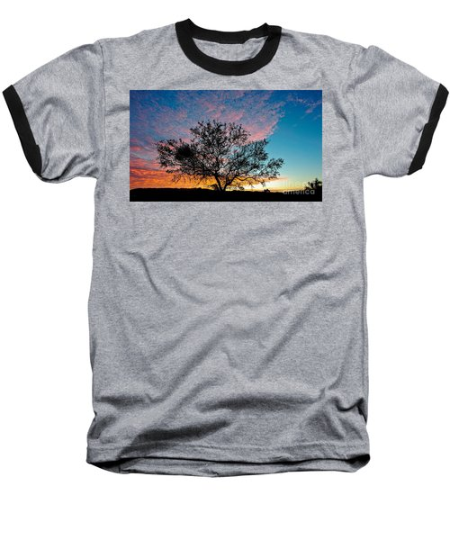 Outback Sunset Pano Baseball T-Shirt