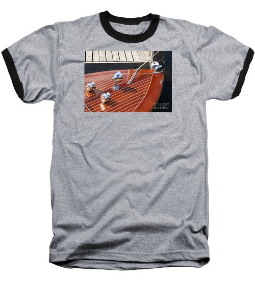 Outboard Runabout Baseball T-Shirt