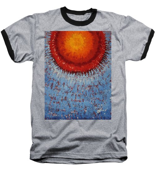 Outburst Original Painting Baseball T-Shirt