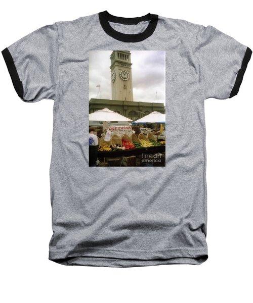 Outdoor Farmers Market Baseball T-Shirt