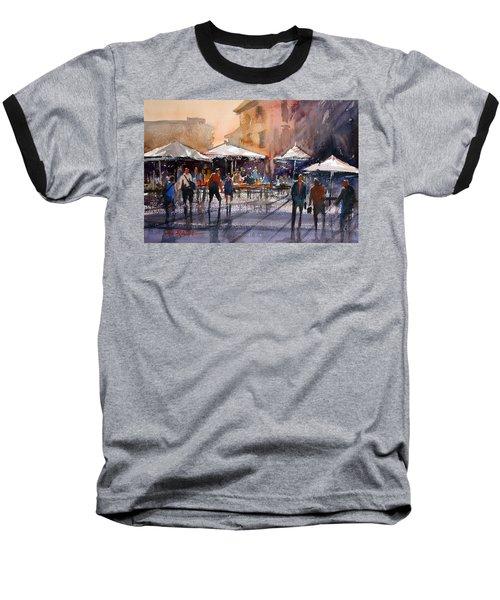 Outdoor Market - Rome Baseball T-Shirt