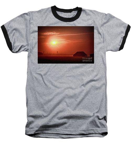 Outer Banks Memories 3 Ap Baseball T-Shirt by Dan Carmichael