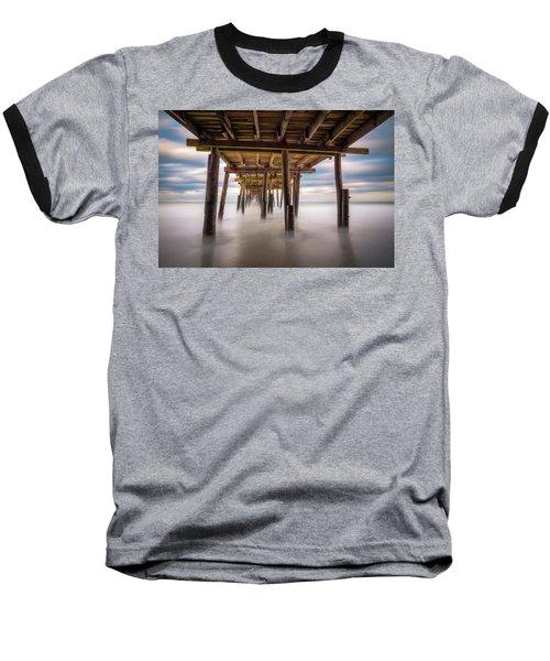 Outer Banks Nc Seascape Nags Head North Carolina Baseball T-Shirt
