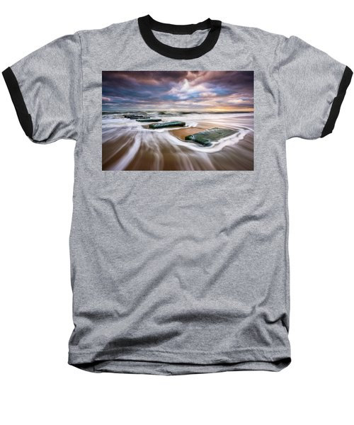 Outer Banks North Carolina Beach Sunrise Seascape Photography Obx Nags Head Nc Baseball T-Shirt