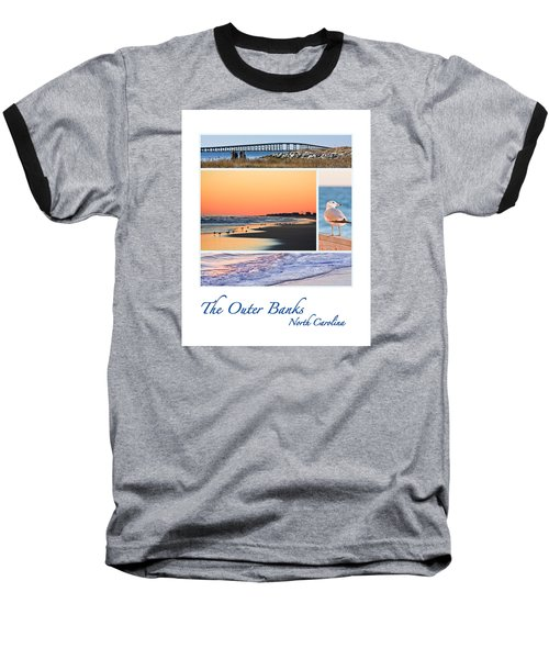 Outer Banks North Carolina Baseball T-Shirt