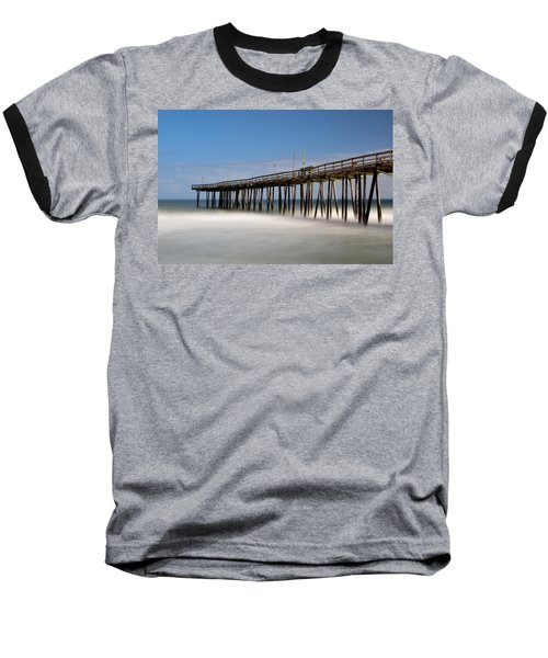 Outer Banks Pier Baseball T-Shirt
