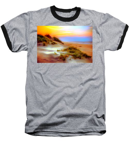 Outer Banks Soft Dune Sunrise Ap Baseball T-Shirt