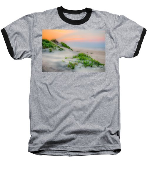 Outer Banks Soft Dune Sunrise Baseball T-Shirt