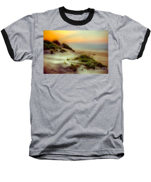 Outer Banks Soft Dune Sunrise Fx1 Baseball T-Shirt