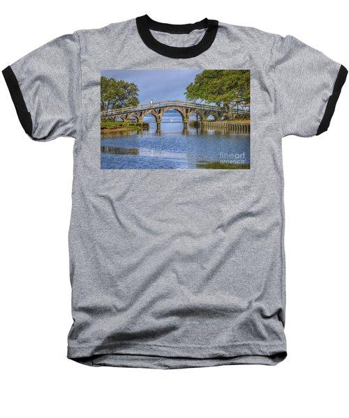 Outer Banks Whalehead Club Bridge  Baseball T-Shirt by Randy Steele