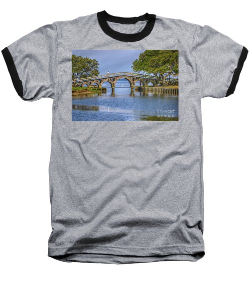 Outer Banks Whalehead Club Bridge  Baseball T-Shirt