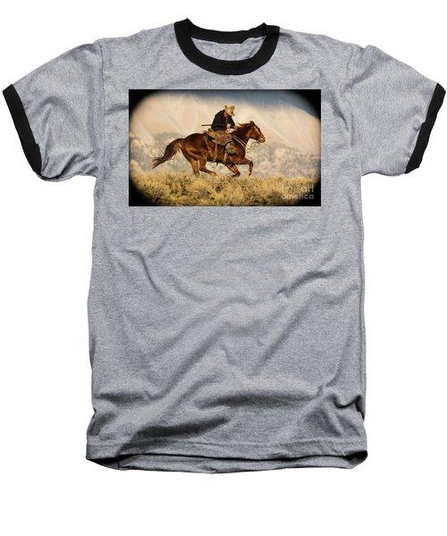 Outlaw Kelly Western Art By Kaylyn Franks Baseball T-Shirt